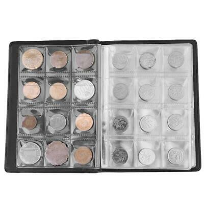 120 Coin Holder Collection Storage Collecting Money Penny Pockets Album Book AU