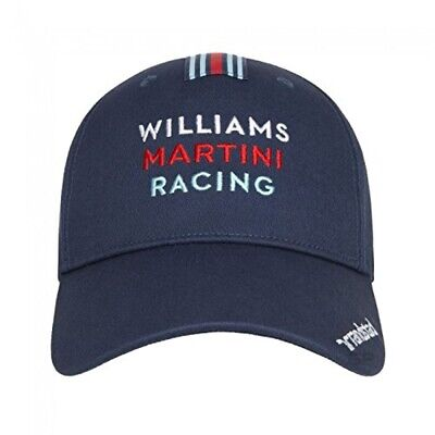 CAP Williams Martini Racing Formula One Team 1 F1 Hackett Sponsor Navy US