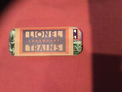 Lionel Collectible Train Watch Metal Case with Sleeve And insides, No Watch