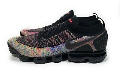 Nike Air Vapormax Flyknit 2 Mens Running Shoes Multicolor Size 9.5