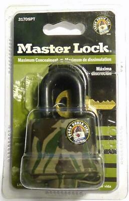 Master Lock 317DSPT Camo / Camouflage Laminated Padlock for Trail Camera Box NEW