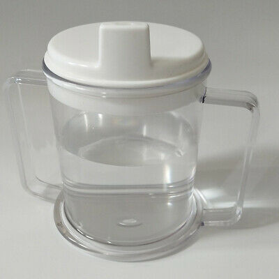 Drinking Aid Mobility Disability Elderly Parkinsons Non Spill Mug Cups #am8