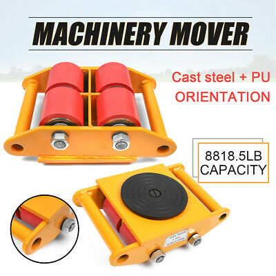 Industrial Machinery Mover Cargo Trolley Cap 13200lbs 6T swivel Top Skate  FR