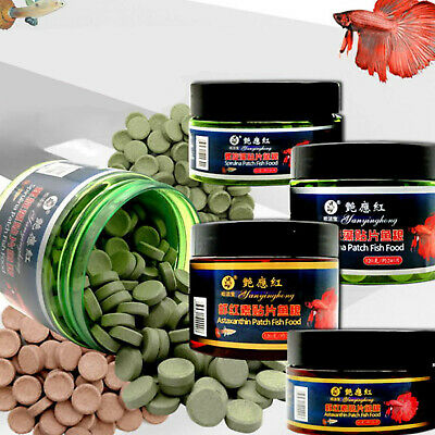 Fish Food Tablet Spirulina Flakes Healthy Ocean Nutrition Fish Food