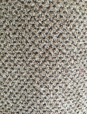 Roll End Cheap Carpet Heavy Domestic Action Back Twist Pile Beige Cream Pattern