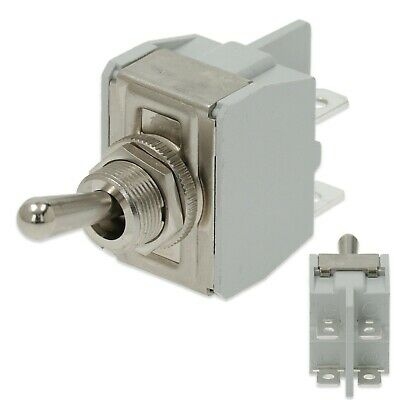 Lever Toggle Switch Universal 250V On Off 2 Position 4 Terminal Coffee Machine