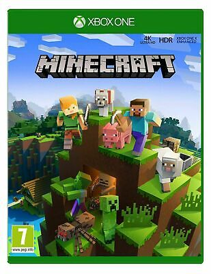 Minecraft (Xbox One) Official Microsoft UK PAL New & Sealed World Building Game
