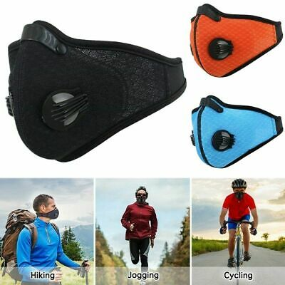 Outdoor Respirator Mask Half Face Dust Proof Filter Activated Carbon Filtration