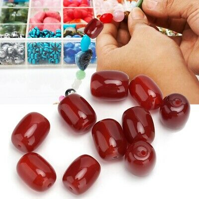 Jewelry Making 10x24mm Oval Glass Crystals Bead Loose Beads for Necklace Finding