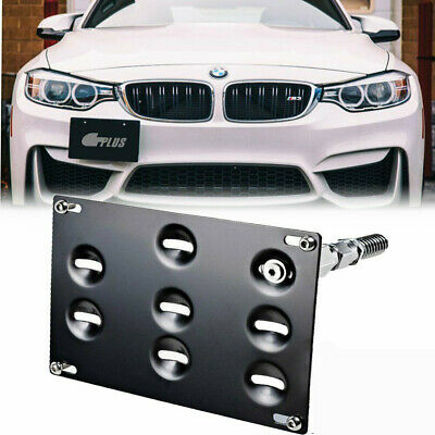 Front Bumper Tow Hook License Plate Mounting Bracket For BMW FSerise F30 F32 F10