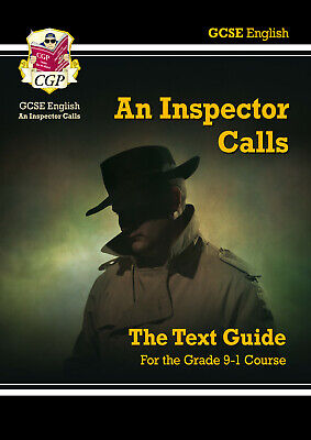 NEW 9-1 School GCSE English Text Book Revision Guide An Inspector Calls by CGP
