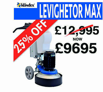 Klindex Levighetor Max Floor Grinding Machine Variable Speed