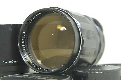 PENTAX Super-Takumar 135mm f/2.5 MF Lens SN2514170 for M42 Mount from Japan