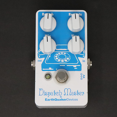 Earthquaker Devices Dispatch Master Delay / Reverb Guitar Pedal - FREE SHIPPING!