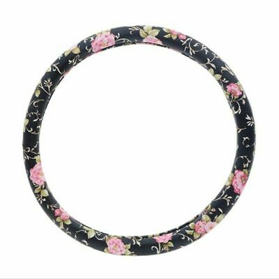 Universal Car Steering Wheel Cover 38cm Pu Leather Auto Cars Interior Accessory