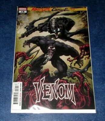 VENOM #18 1st print ABSOLUTE CARNAGE AC DONNY CATES SLEEPER DYLAN BROCK MARVEL