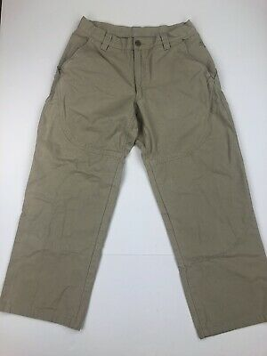 WEATHERPROOF MEN/'S SECURE ZIP POCKET UTILITY PANT COLOR:TAN ~ASSORTED SIZES~ NEW