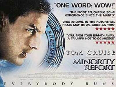 Minority Report (Double Sided) Original Movie Poster