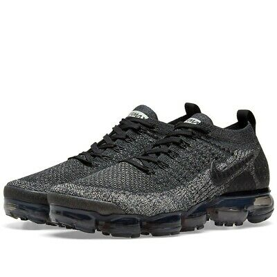Nike Air Vapormax Flyknit 2, Men`s Size 11.5 D, Black/DarkGrey 942842-012 NEW