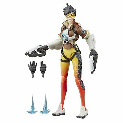 """Hasbro Overwatch Ultimates Series Tracer 6"""" Collectible Action Figure"""