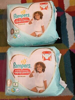 Pampers Premium Protection Baby Nappy Pants 9-15kg Diaper Size4 Jumbo Pack of 47