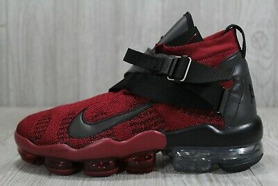 45 Mens Nike Air Vapormax Premier Flyknit Team Red/Black AO3241-600 Shoe 10 $225