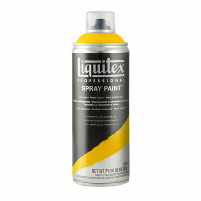 Liquitex Professional Spray Paint Can 400ml - Cadmium Yellow Medium Hue