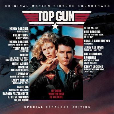 TOP GUN Soundtrack Special Expanded Edition CD NEW Kenny Loggins Cheap Trick