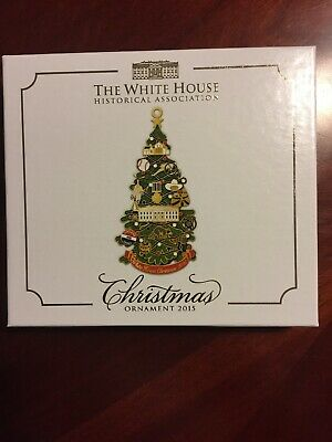 White House Historical Association Christmas Ornament 2015 - NEW In Box