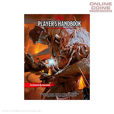 Dungeons and Dragons Players Handbook - Hard Cover
