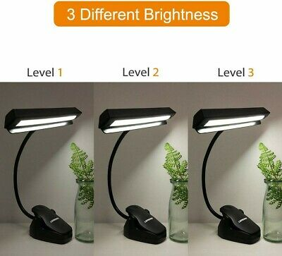 Lepower 14 LED Music and Bed Headboard Clip Light.