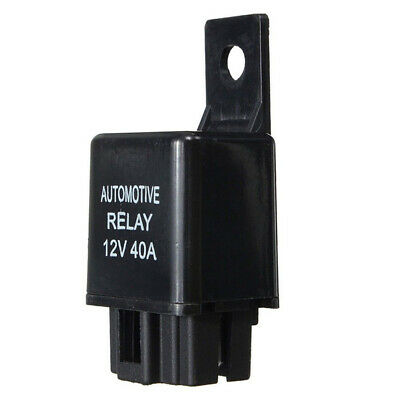 12V 40A Car Automotive Van Boat Bike 4 Pin SPST Alarm Relay Parts For Car Alarms
