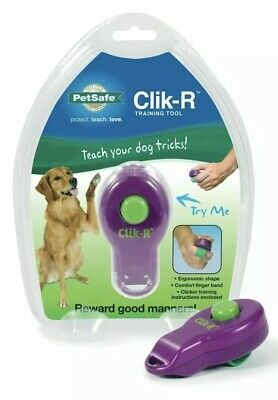 New In Package PetSafe Clik-R Training Tool Clicker Great For All Animals
