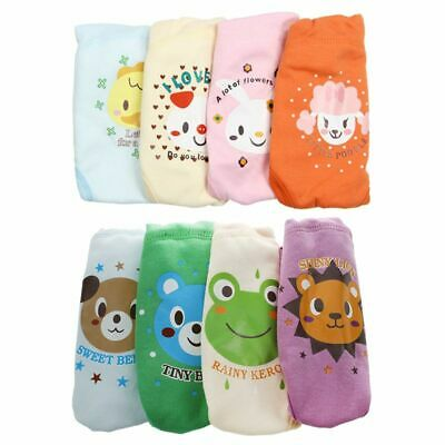 4 X Baby Toddler Girls Boys Cute 4 Layers Waterproof Potty Training Pants r A2L8