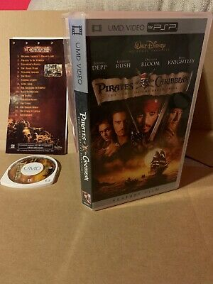 Pirates of the Caribbean - The Curse of the Black Pearl (Sony PSP UMD Movie)