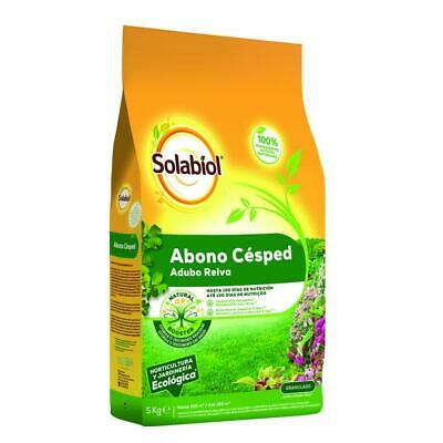 Fertilizante natural césped Solabiol 15 kg