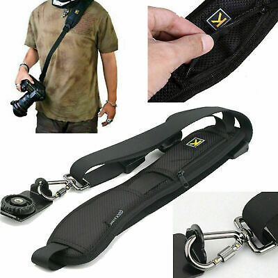 Camera Shoulder Strap Belt Quick Sling DSLR SLR Single Cameras Sony Nikon Canon