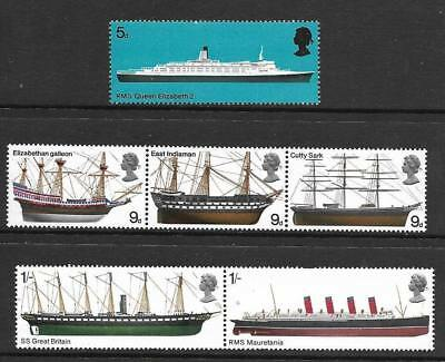 GB 1969 Commemorative Stamps~Ships~Unmounted Mint Set~UK Seller