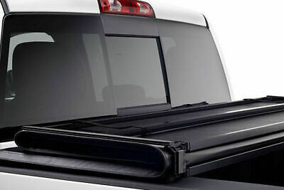 Ford Ranger T6 SUPER CAB Hard Tri Folding Tonneau Cover FITS WITH LADDER RACK
