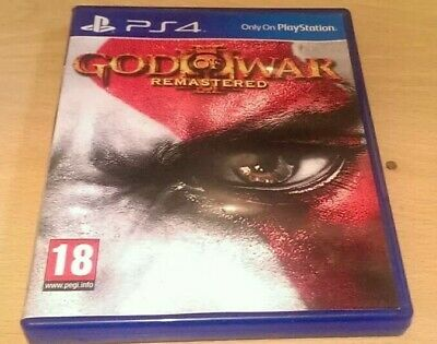 God of War 3 III Remastered [PS4] *Free UK P&P*