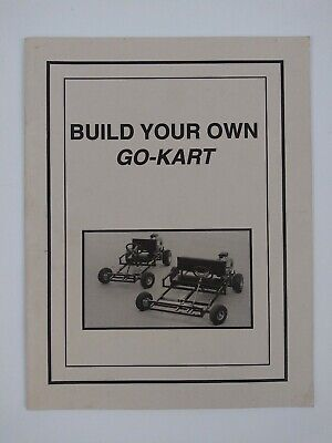 Build Your Own Go Kart One-Person Two-Person Plans Northern Hydraulics Inc 1994