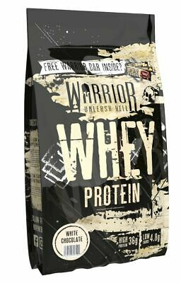 Warrior Whey 1kg Lean Muscle Building Protein Powder