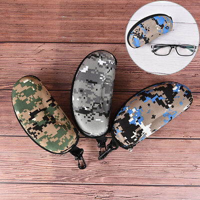 Camouflage glasses Sunglasses Solid Case Glasses Box With zipper Eyeglass BoxSC