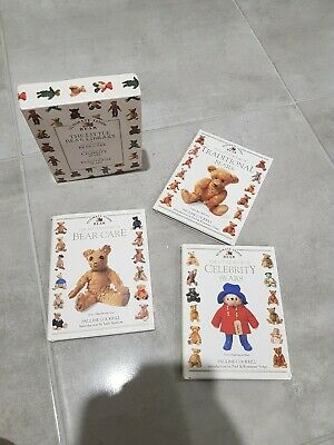 Ultimate Teddy Bear Book The Little Bear library By Pauline Cockrill. Set of 3