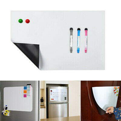 Magnetic White Board Writing Board Family Office Memo Message PVC Plastic