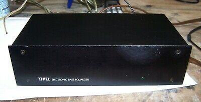 Thiel CS3 Electronic Bass Equalizer Working