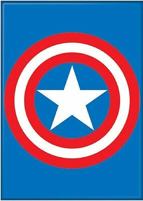 Captain America Shield Marvel Photo Refrigerator Magnet