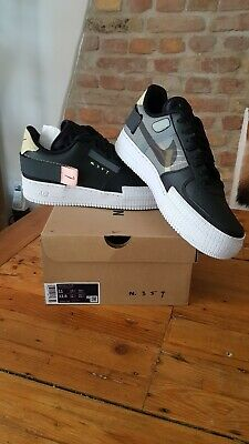 NIKE AIR FORCE 1 Type 354 Black 45 Neu Deadstock