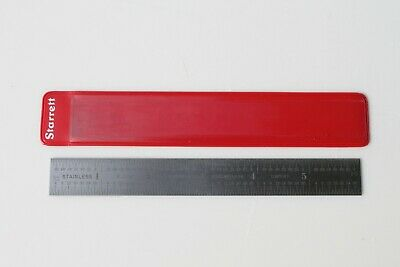 New Starrett 1604R-6 Rule 6 Inch Ruler Scale Machinist 1604-R 1604R NOS #612