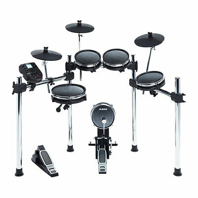 Alesis Surge Mesh Kit Eight-Piece Electronic Drum Kit with Mesh Heads, Onboard M